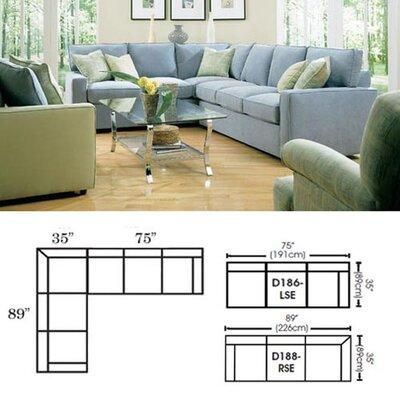 Rowe Furniture Monaco Mini Mod Sectional