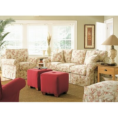 Rowe Furniture Rowe Basics Nantucket Slipcovered Queen Sleeper Sofa