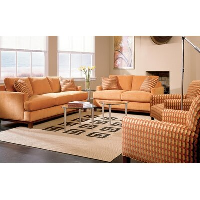 Rowe Furniture Sullivan Mini Mod Apartment Sofa and Loveseat