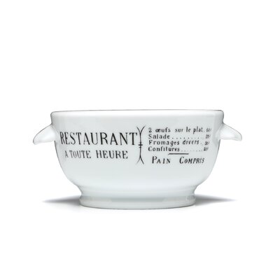 Pillivuyt Brasserie 15 oz. Onion Soup Bowl
