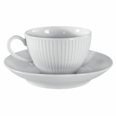 Pillivuyt Plisse 10 oz. Breakfast Cup