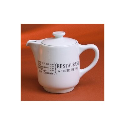 Pillivuyt Brasserie 18 oz. Coffee/Tea Pot