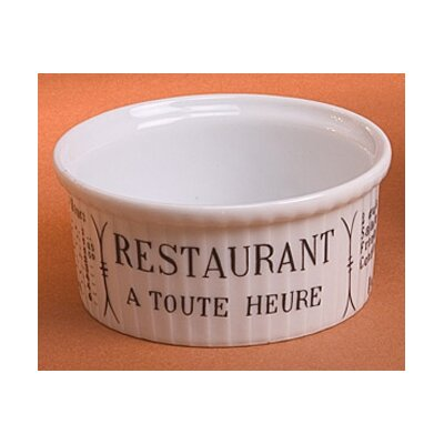 Brasserie 5 oz. Pleated Ramekin