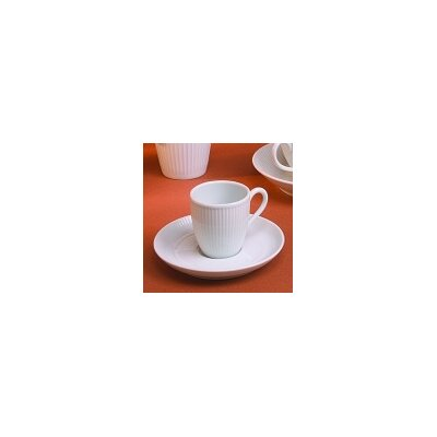 Pillivuyt Plisse 6 oz. Teacup