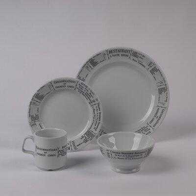 Pillivuyt Brasserie Dinnerware Collection