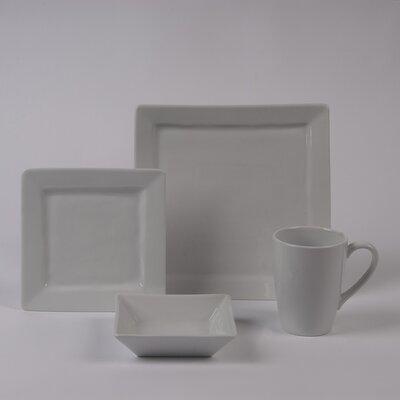 Pillivuyt Quartet Rimmed Bowl 4 Piece Dinnerware Collection