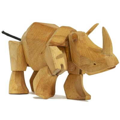 Areaware David Weeks Simus the Rhino Figurine