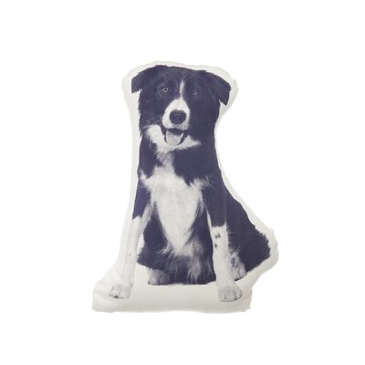 MINI Border Collie Pillow