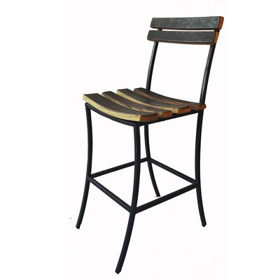 Iron Wine Bar Stool