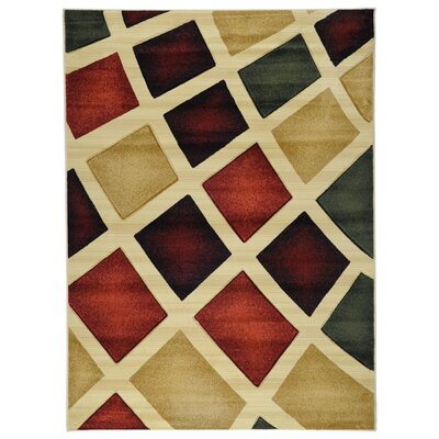 Ottomanson Moderno Multi Abstract Rug