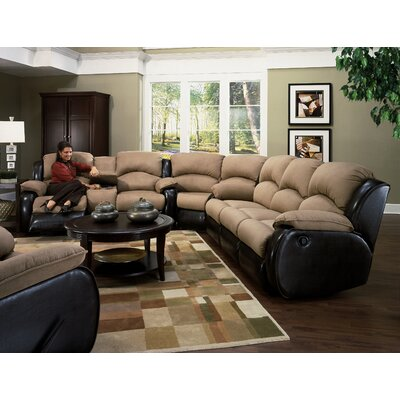 Recline Designs Jupiter Dual Reclining Sleeper Sectional
