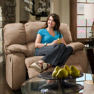 Recline Designs Cordova Polyester Chaise Recliner