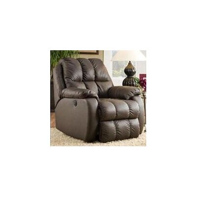 Recline Designs General Leather Chaise Recliner