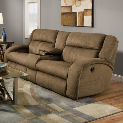 Maverick Lay Flat Console Reclining Loveseat