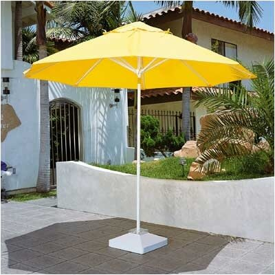 Dayva International 9' Remote Control Motorized Market Umbrella