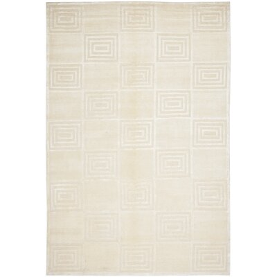 Alistair Tiles Champagne Rug