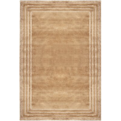 Ellington Border Truffle Rug