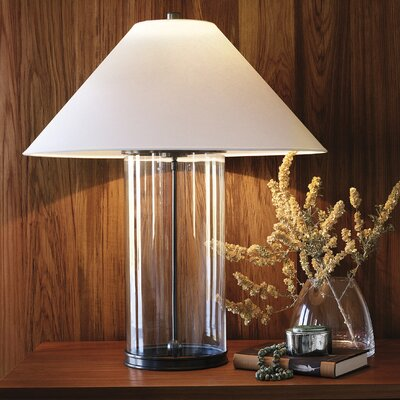 """Ralph Lauren Home Modern 33"""" H Table Lamp with Empire Shade"""