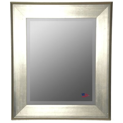 Rayne Mirrors Jovie Jane Brushed Silver Wall Mirror