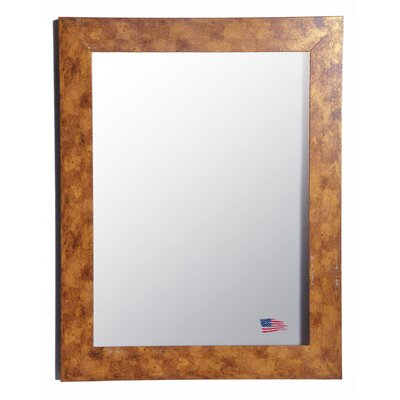 Jovie Jane Gold Stone Wall Mirror