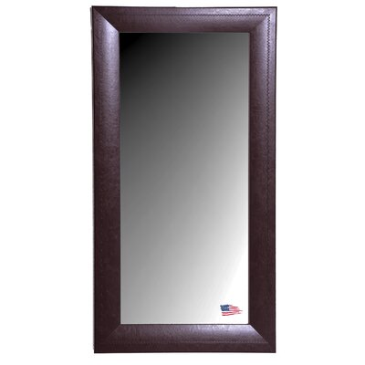Rayne Mirrors Jovie Jane Espresso Leather Tall Mirror