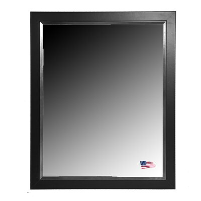 Rayne Mirrors Ava Black and Silver Midnight Wall Mirror