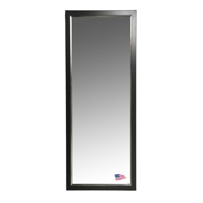 Rayne Mirrors Jovie Jane Black with Silver Lining Tall Mirror