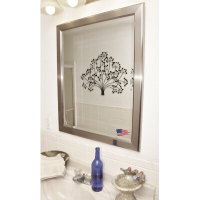 Rayne Mirrors Jovie Jane Silver Rounded Wall Mirror