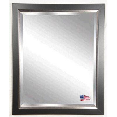Rayne Mirrors Jovie Jane Black with Silver Lining Wall Mirror