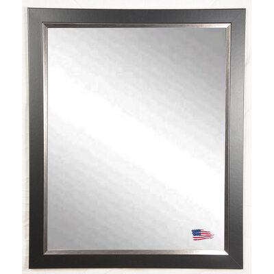 Ava Black and Silver Midnight Wall Mirror
