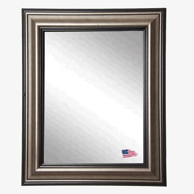 Ava Smoked Silver Wall Mirror