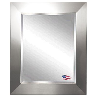 Rayne Mirrors Jovie Jane Silver Wide Wall Mirror