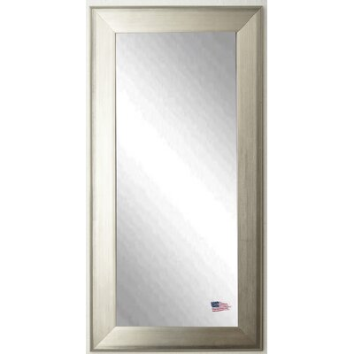 Rayne Mirrors Brushed Silver Tall Mirror