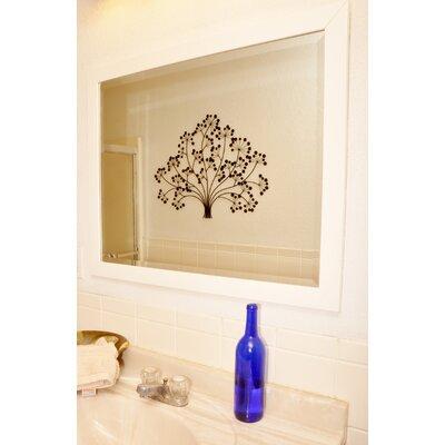 Rayne Mirrors Jovie Jane Glossy White Wall Mirror