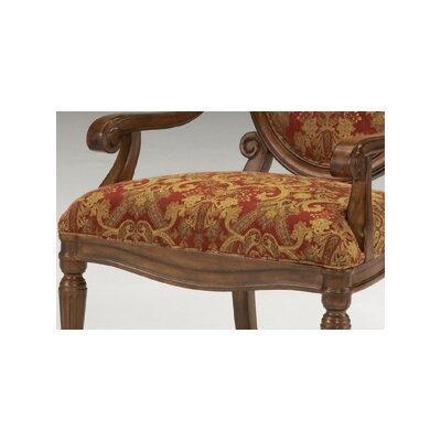 Bernards Fabric Arm Chair