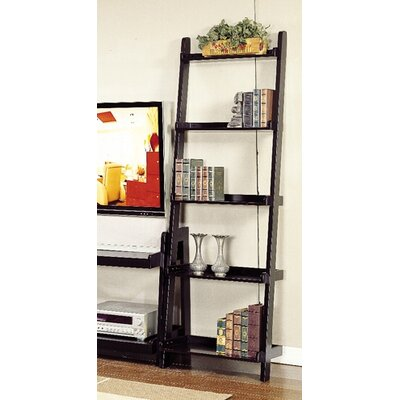 Bernards Ladder Leaning Bookshelf with 5 Shelves