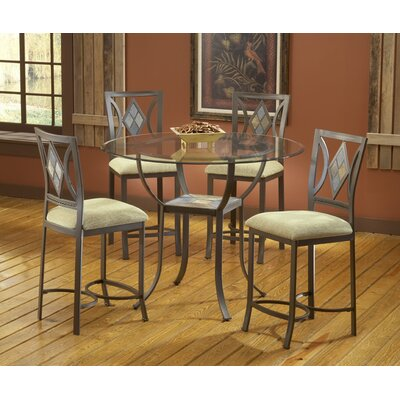 Bernards Diamond Tile Barstool