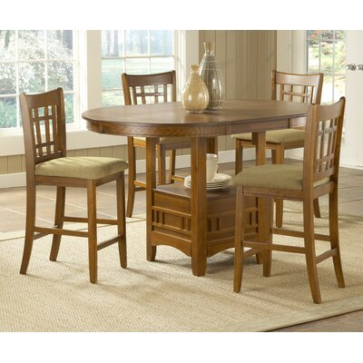 Bernards Randolph Counter Height Pub Table Set