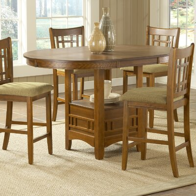Bernards Randolph 3 Piece Pub Table Set