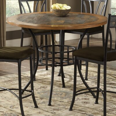 Bernards Rock Wood / Stone Pub Table