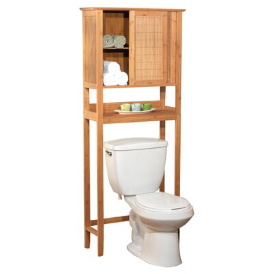 "TMS Bamboo 27.56"" x 66.93"" Over the Toilet Cabinet"