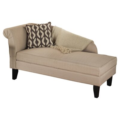 Tms leena storage chaise lounge reviews wayfair for Ashland chaise storage lounge