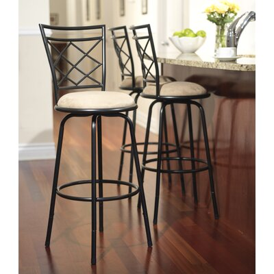 Avery Adjustable Metal Bar Stools (Set of 3)