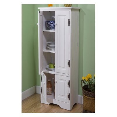 TMS Pine Extra Tall Cabinet & Reviews | Wayfair