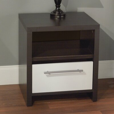 TMS 1 Drawer Nightstand