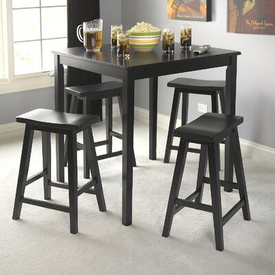 tms belfast 5 piece pub set reviews wayfair