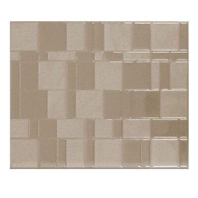 Smart Tiles Mosaik High-Gloss Mosaic in Beige & Reviews ...
