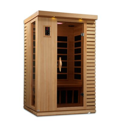 Puretech Low EMF 2 Person IR Carbon FAR Infrared Sauna