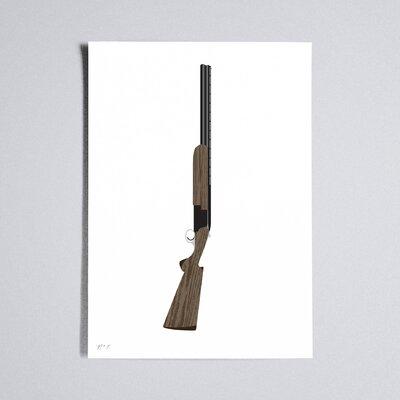 Workbench Shotgun Graphic Art