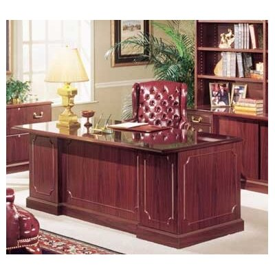 High Point Furniture Bedford Executive U-Shaped Desk Office Suite